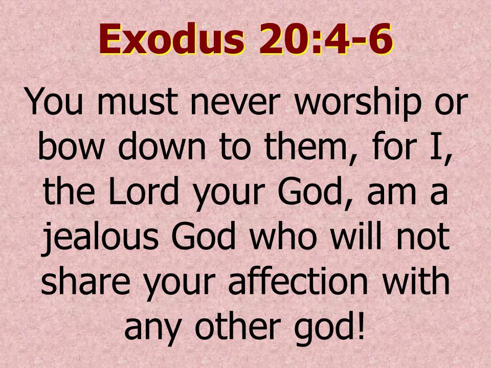 Why We Worship Idols