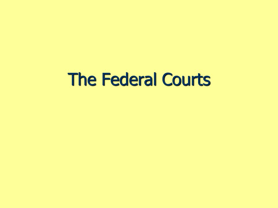Figure 16.4 The Courts as Policymakers Accepting Cases Use the rule of four to choose cases.