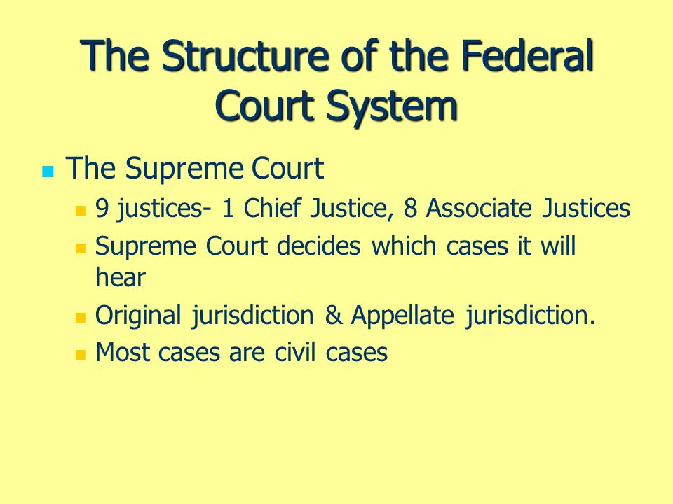 The Courts and the Policy Agenda A Historical Review John Marshall and the Growth of Judicial Review The Nine Old Men The Warren Court The Burger Court The Rehnquist Court