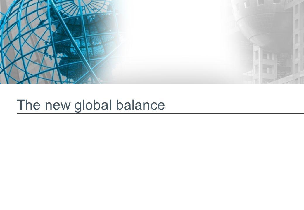 The new global balance