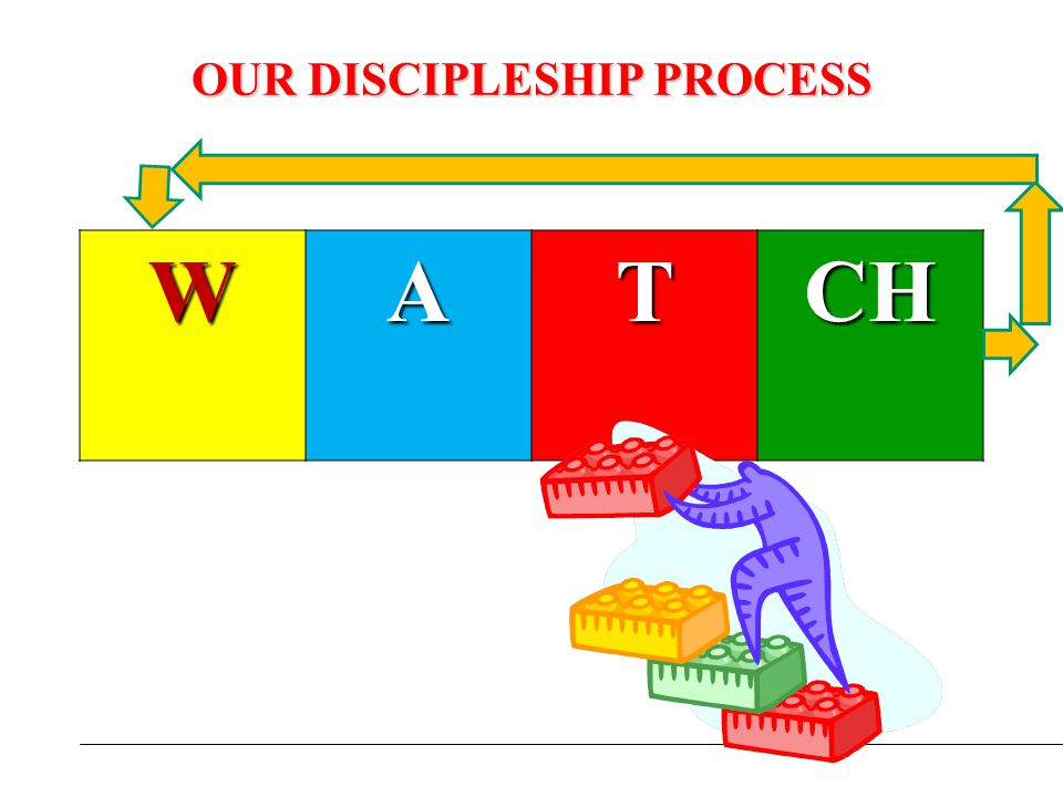 OUR DISCIPLESHIP PROCESS WATCH