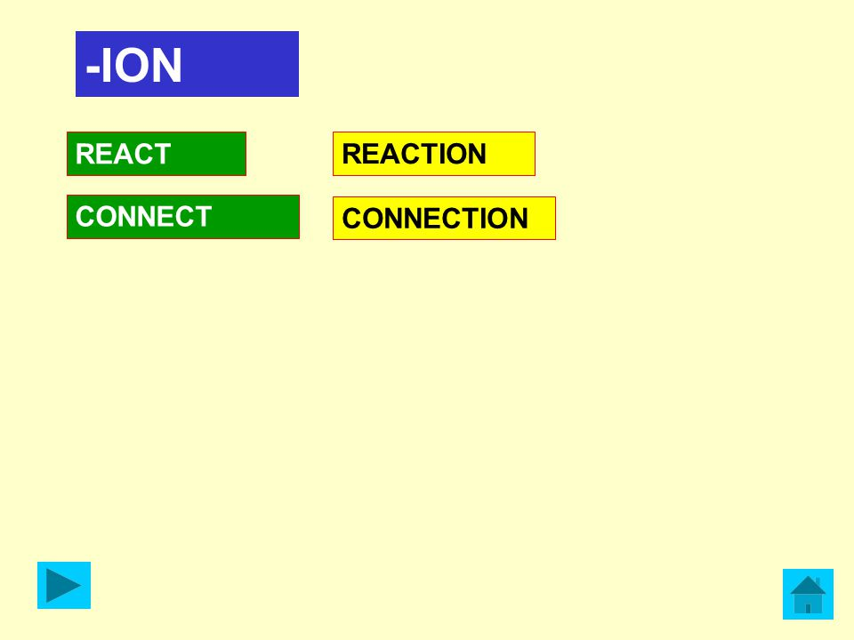 -ION REACT CONNECT REACTION CONNECTION