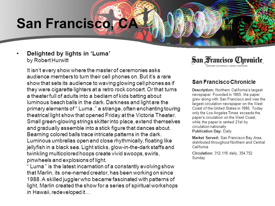 San Francisco, CA Everything Is Illuminated by Frances Reade OK, so a lot of us don t really like hippies.
