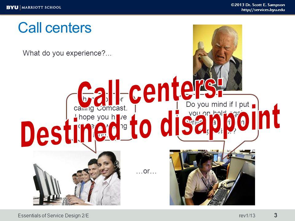 ©2013 Dr.Scott E. Sampson http://services.byu.edu Value proposition.