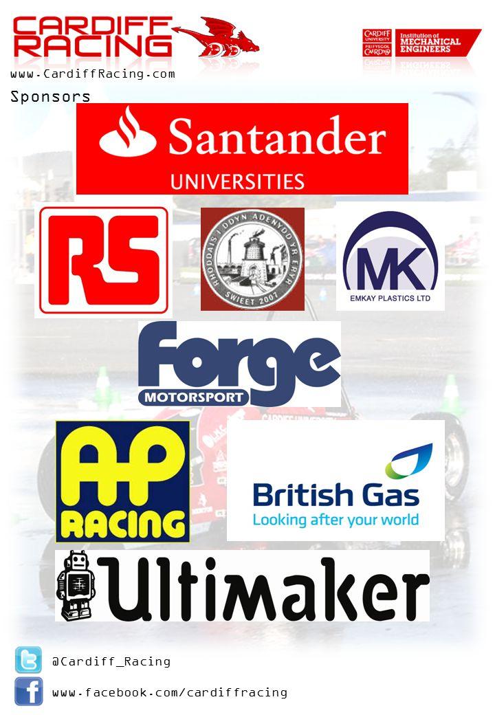 @Cardiff_Racing www.facebook.com/cardiffracing www.CardiffRacing.com Sponsors