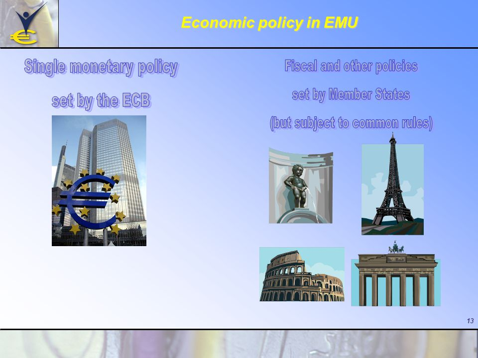 13 Economic policy in EMU