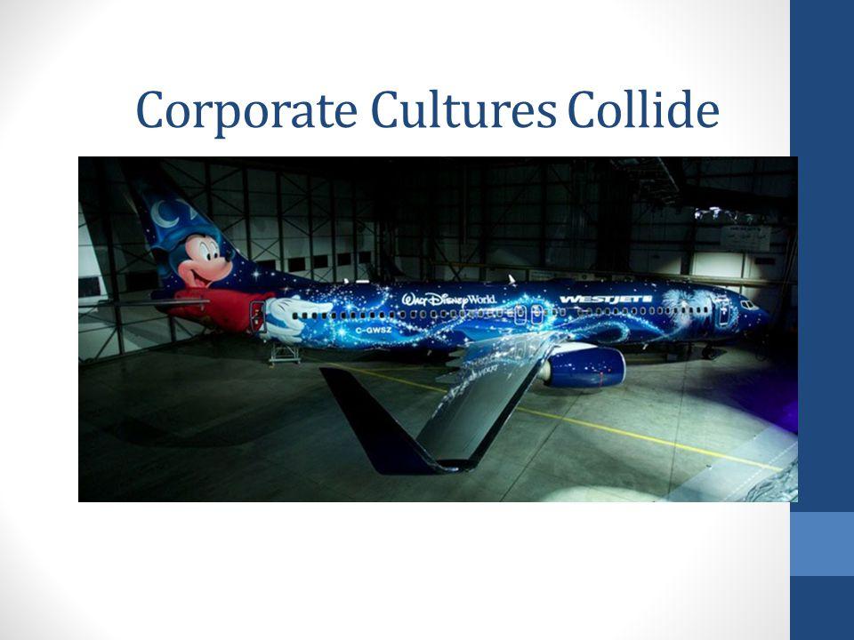 Corporate Cultures Collide