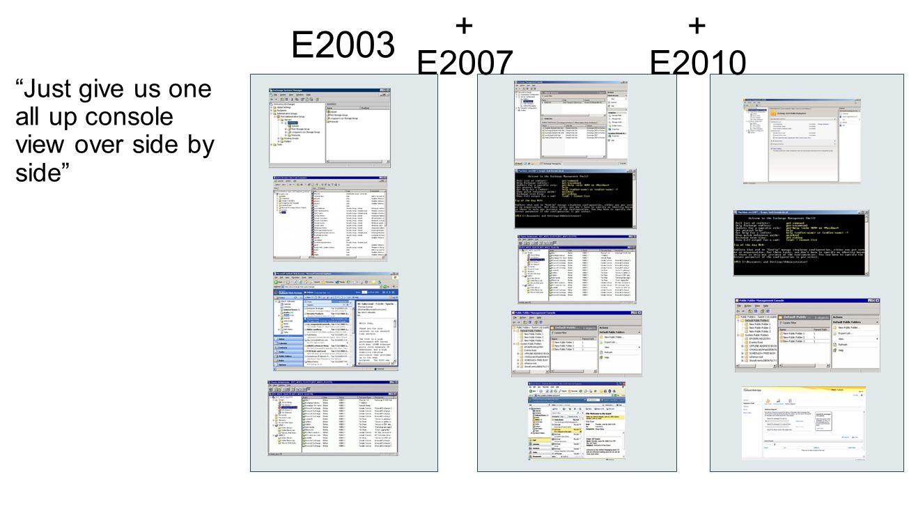 E2003 + E2007 + E2010
