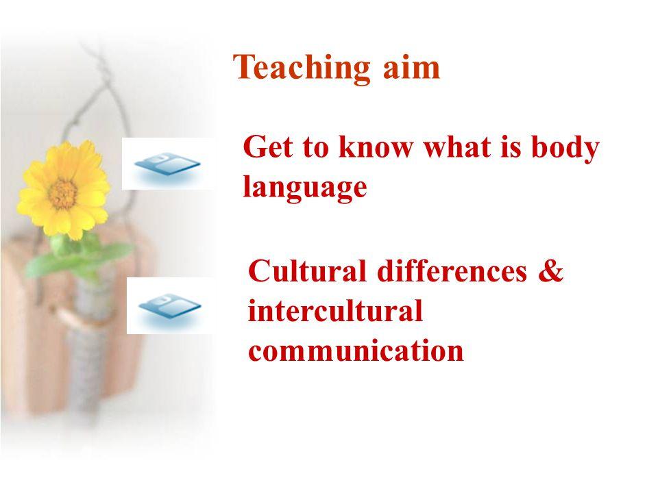 Unit 4 Body language -----Reading