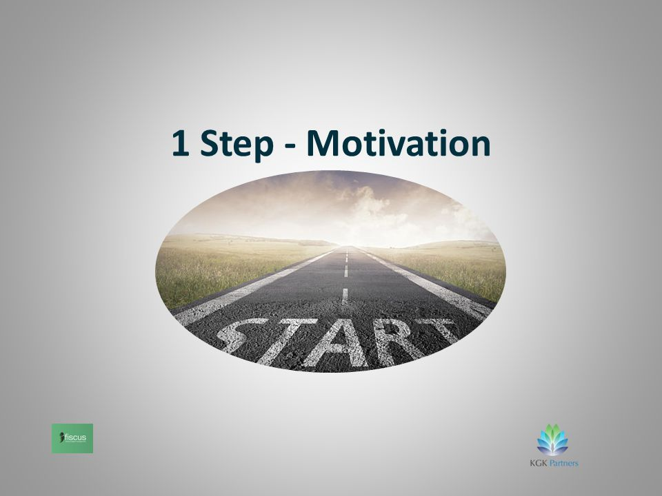 1 Step - Motivation