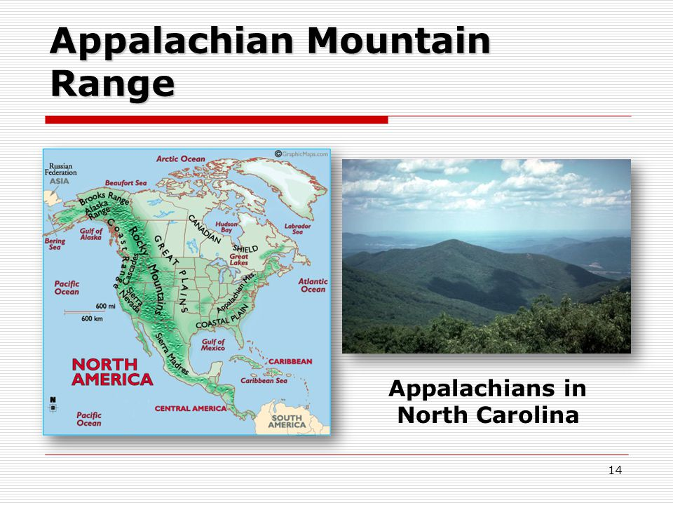 Appalachian Mountain Range Appalachians in North Carolina 14