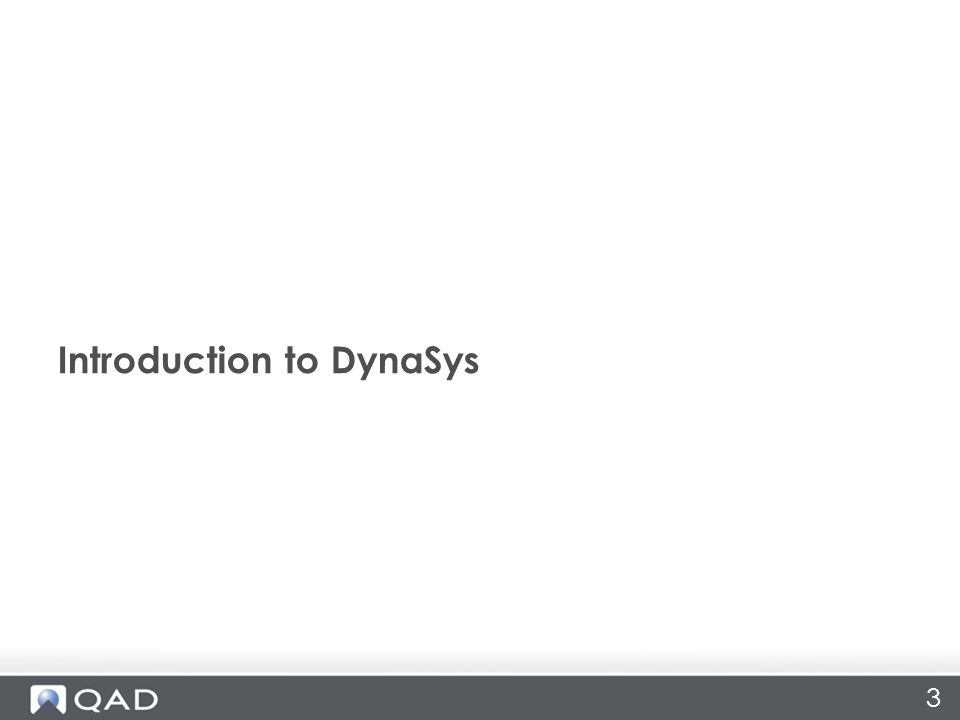 3 Introduction to DynaSys