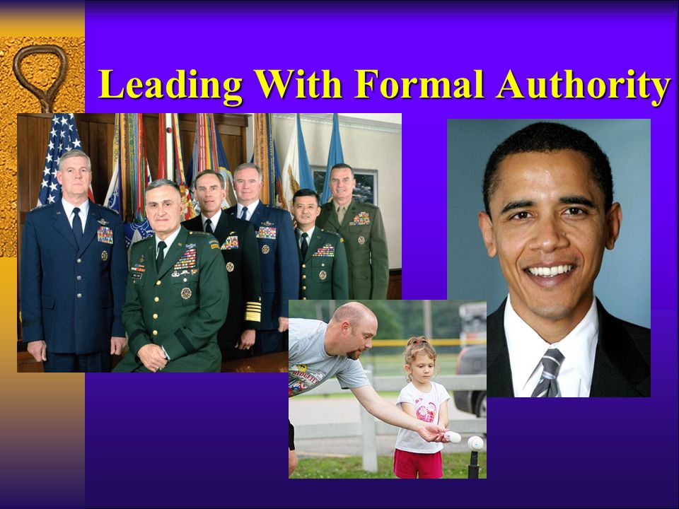Leading With Formal Authority