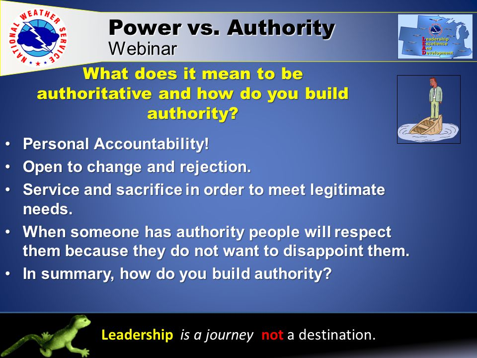 What does it mean to be authoritative and how do you build authority.