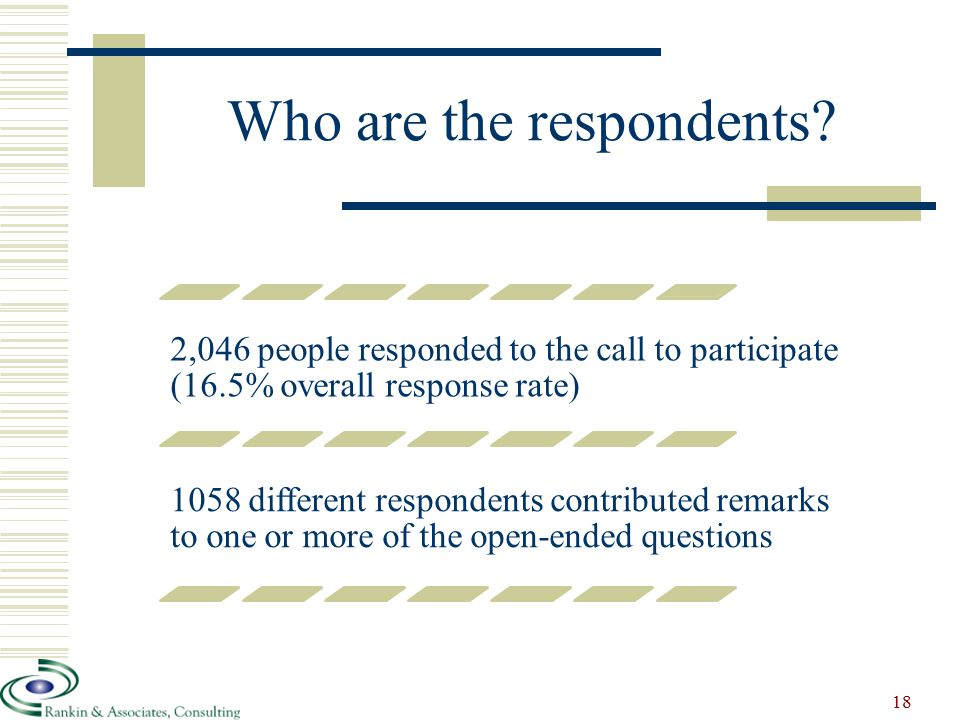 Who are the respondents.