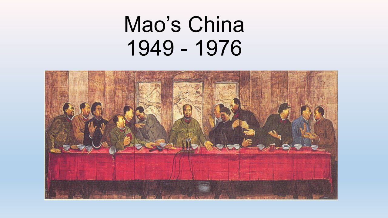 Presentation Outline I.Theoretical Maoism II.Overview of the Civil War in China III.The Great Leap Forward IV.The 100 Flowers Campaign V.The Cultural Revolution VI.Maoist Propaganda VII.Conclusions I.Reconciliation with the West II.The Deng Xiaoping Reforms