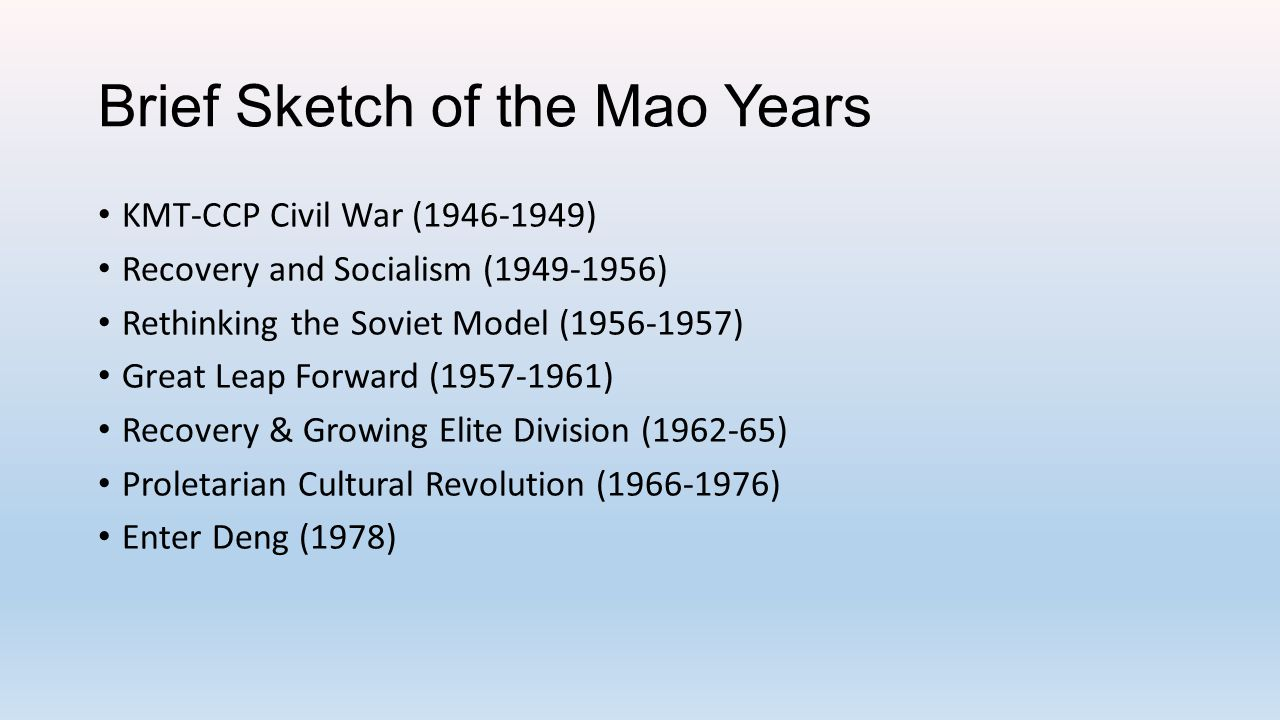 Maoism in Theory In the late sixties the Little Red Book containing the thoughts of Chinese Communist Party Chairman Mao Zedong was one of the most intensively-studied books in the world.