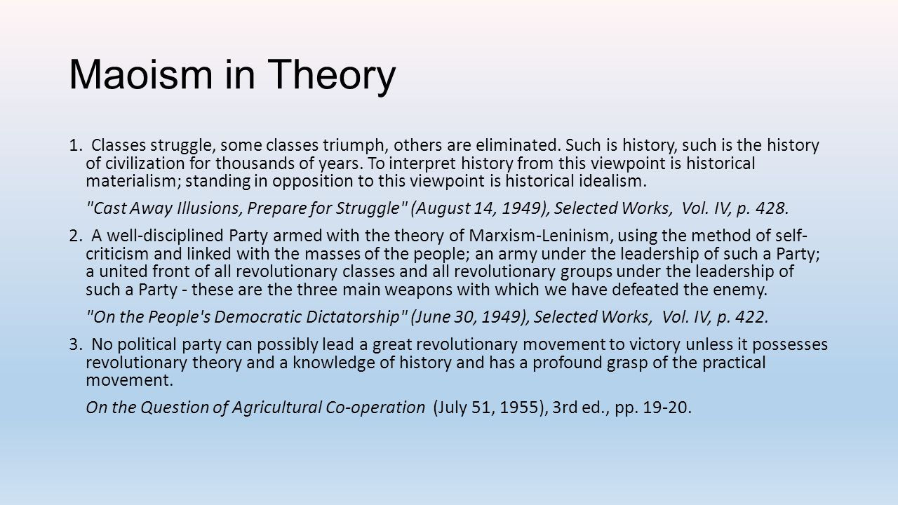 Maoism in Theory 4.