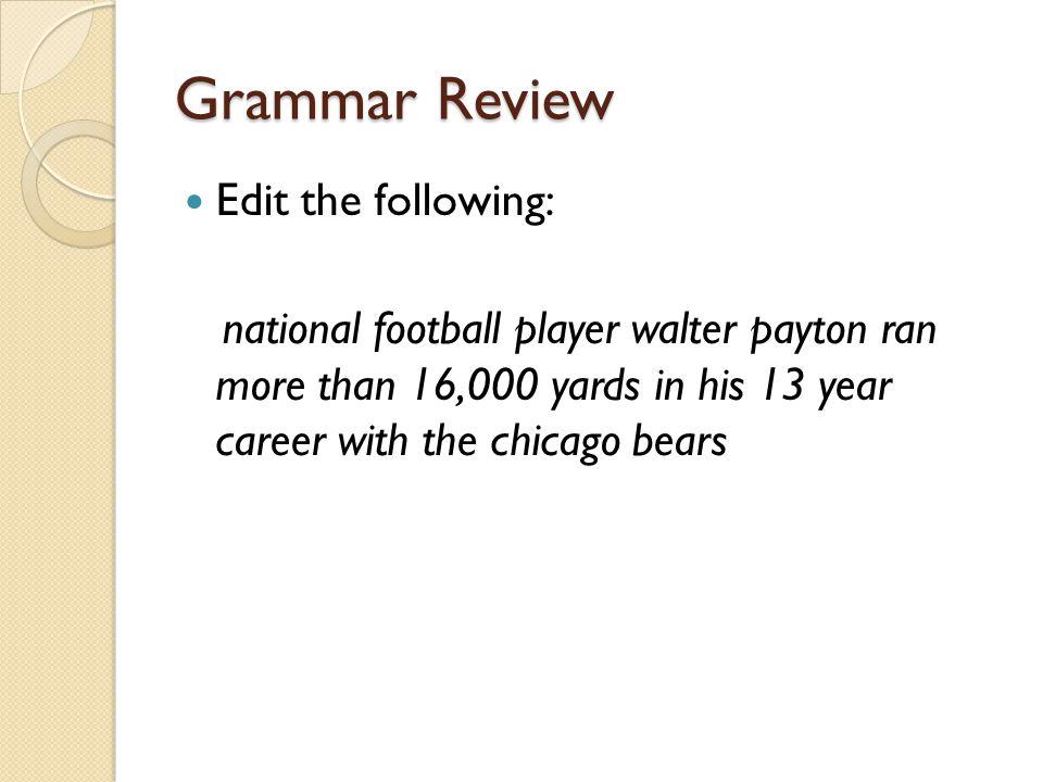 Grammar Review 1.Circle each prefix.