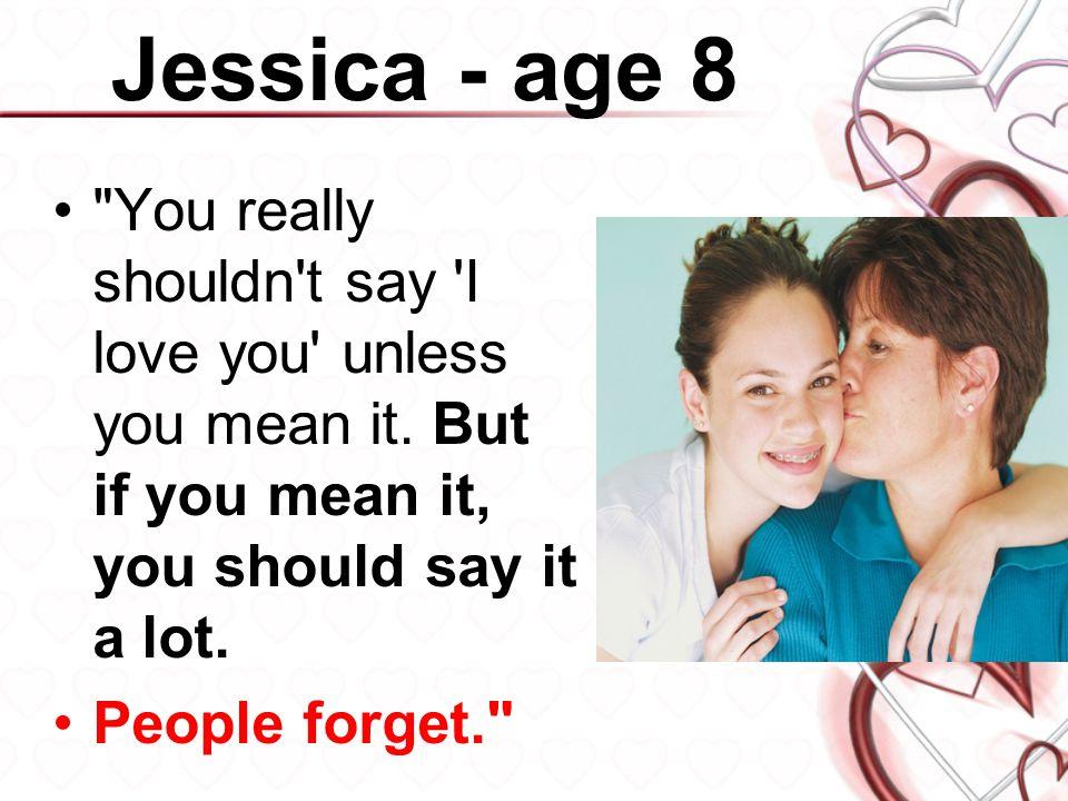 Jessica - age 8