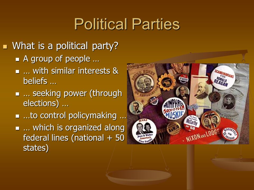 Contributions of 3 rd Parties Address issues major parties don't want to discuss Example: Ross Perot & NAFTA Ralph Nader and big money in politics Disappoint in Ds, Rs = support for 3 rd party