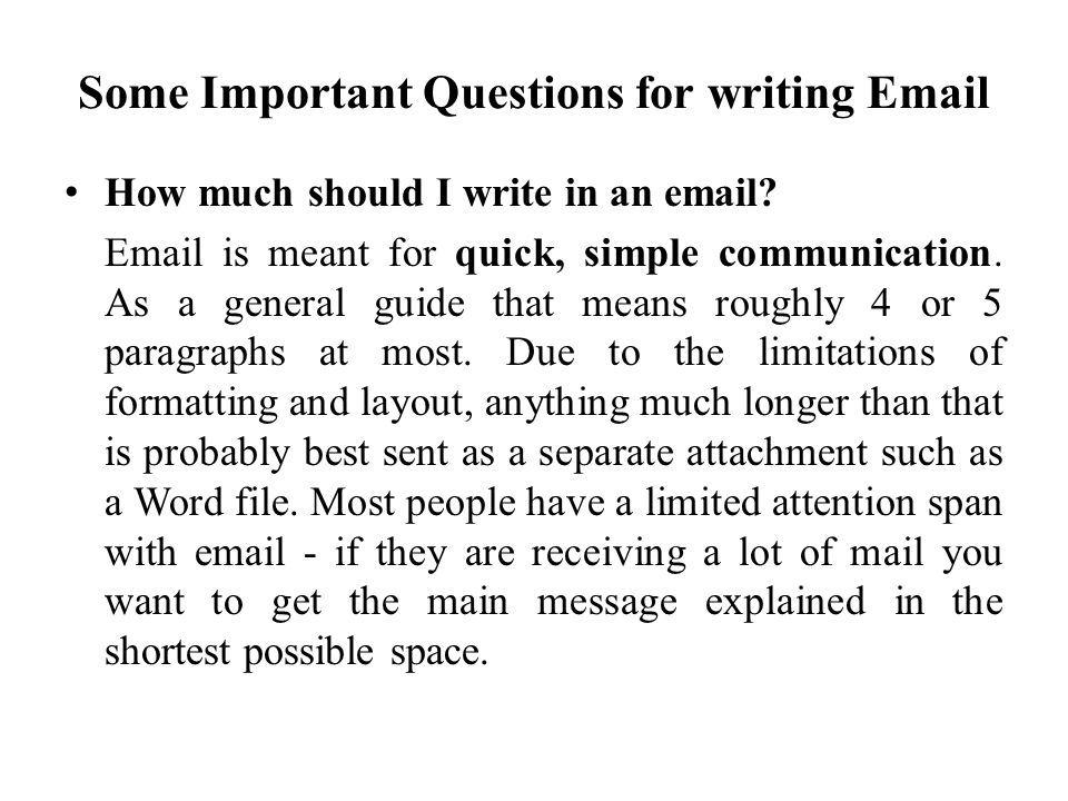 Do spelling and grammar matter in email.We think it does.