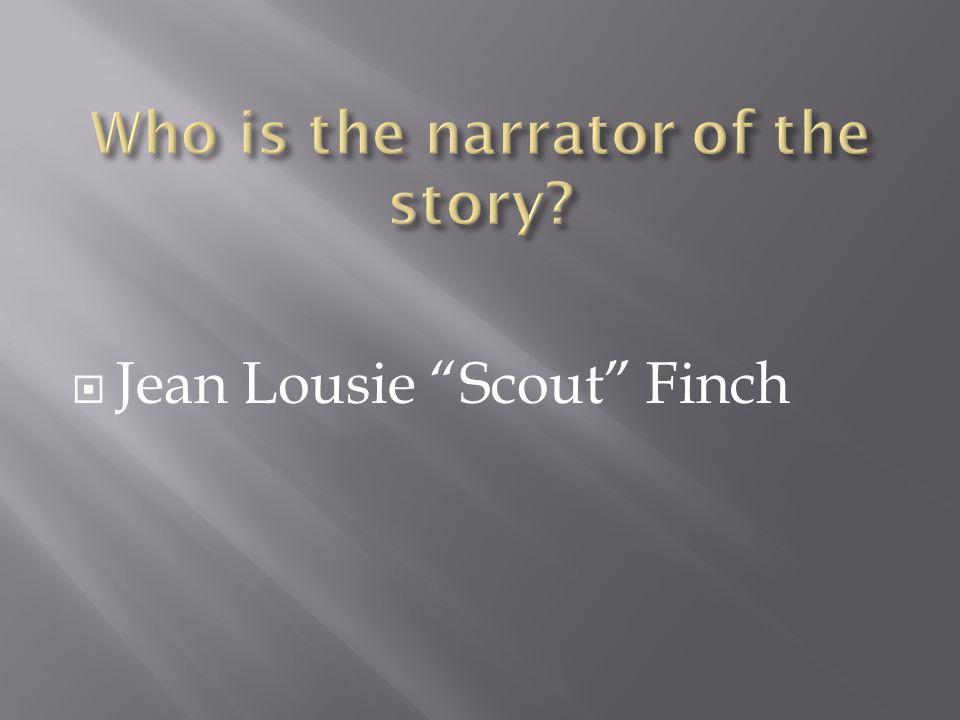  Jean Lousie Scout Finch