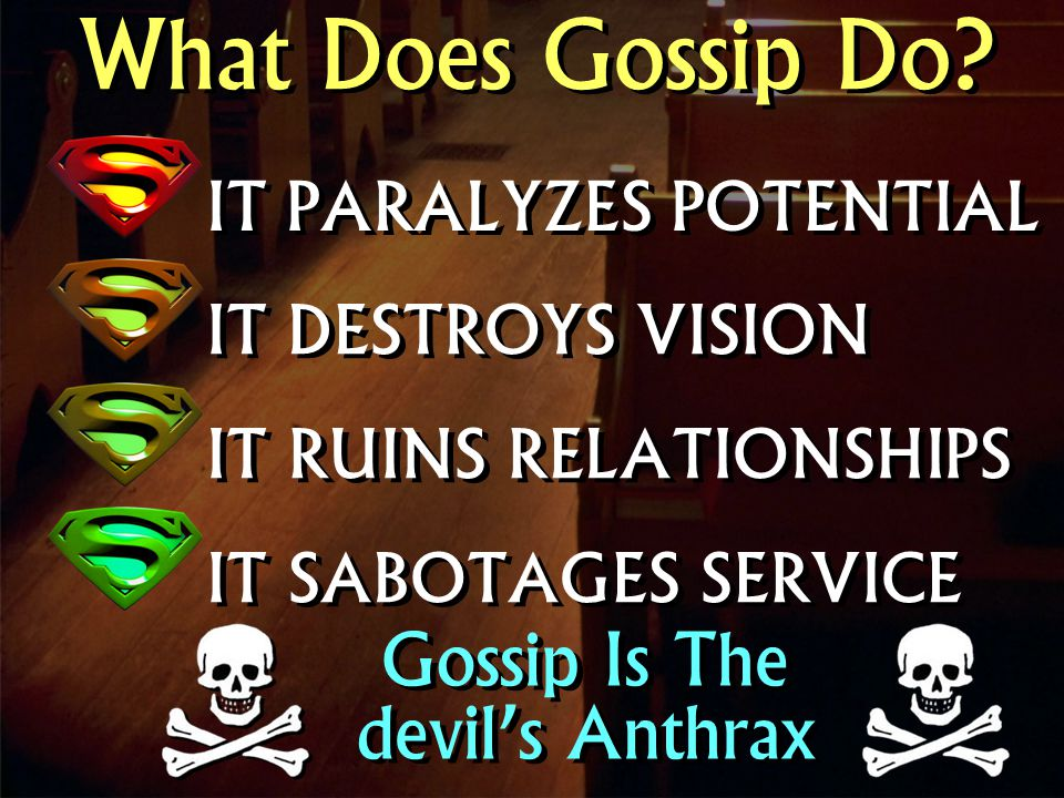What Does Gossip Do.