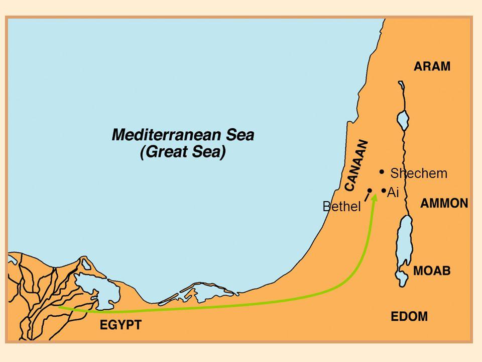 Shechem Ai Bethel