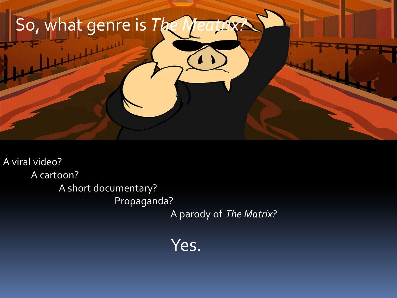 A viral video. A cartoon. A short documentary. Propaganda.
