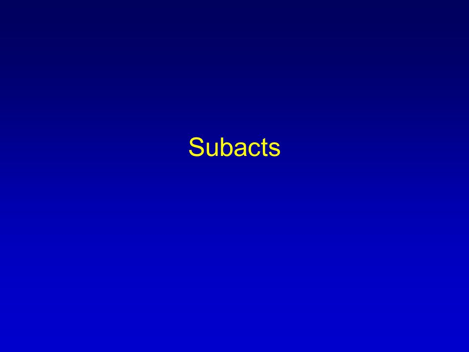 Subacts