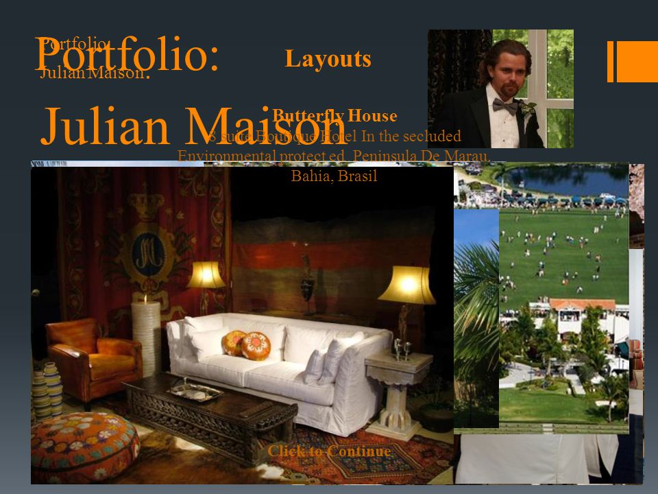 Click to Continue Julian Maison Butterfly House 8 suite Boutique Hotel In the secluded Environmental protect ed Peninsula De Marau.