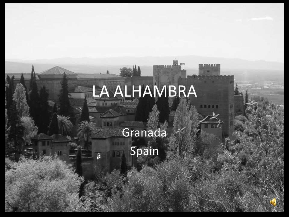 The Alhambra is a palace and fortress complex of the Moorish rulers of Granada in southern Spain (known as Al-Andalus when the fortress was constructed during the mid 14th century), occupying a hilly terrace on the southeastern border of the city of Granada.