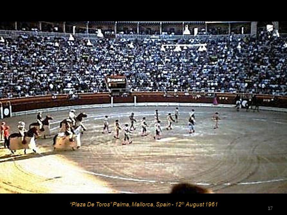 Palma, Mallorca, Spain - 12 th August 1961 16