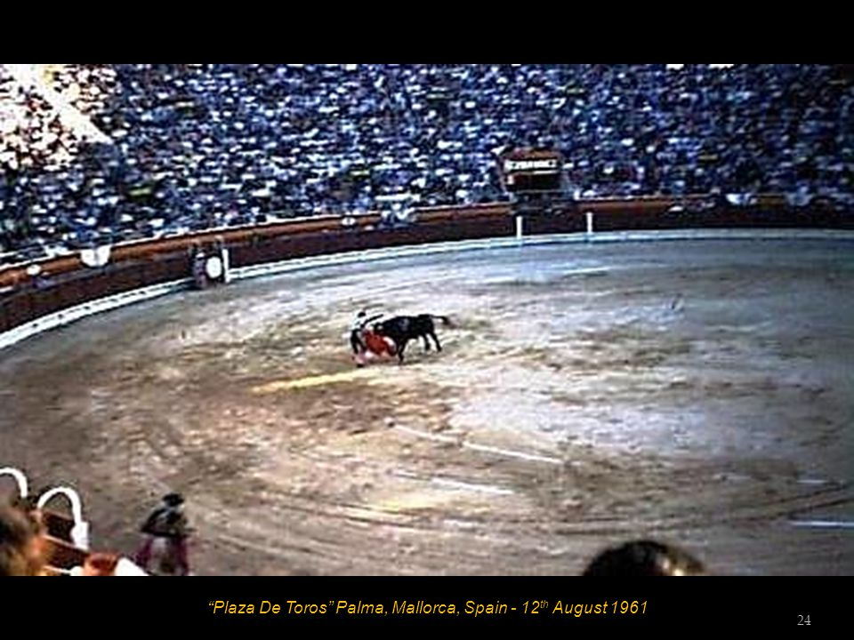 Plaza De Toros Palma, Mallorca, Spain - 12 th August 1961 23