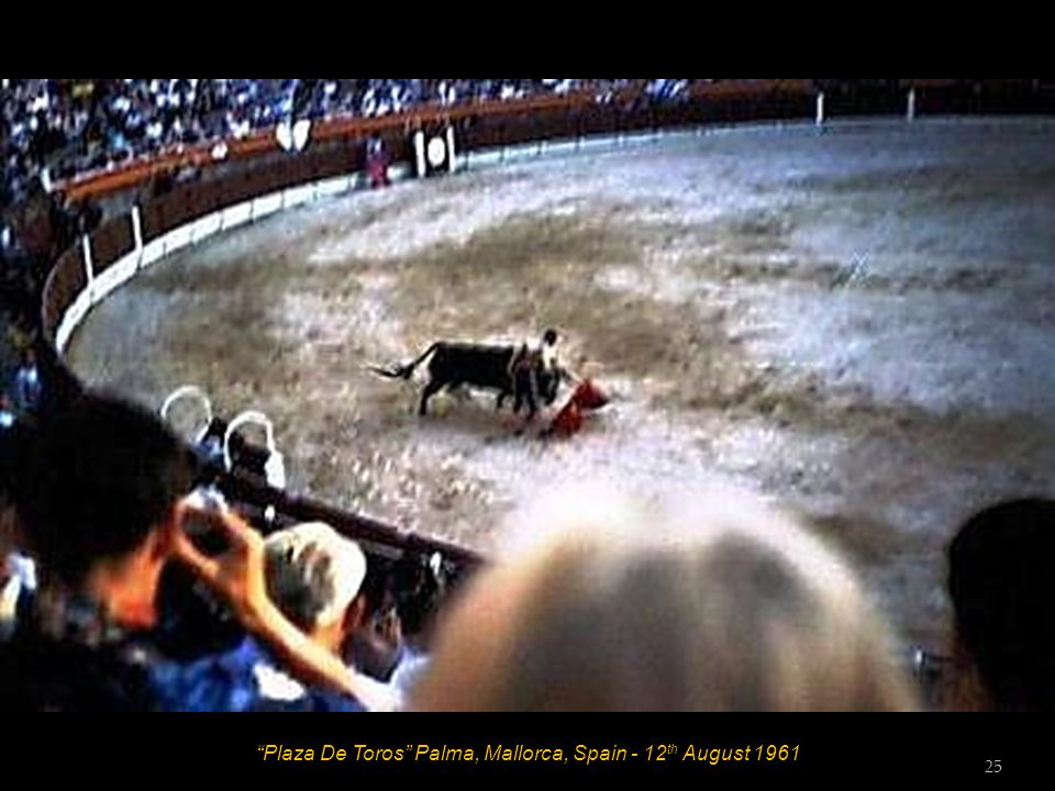 Plaza De Toros Palma, Mallorca, Spain - 12 th August 1961 24