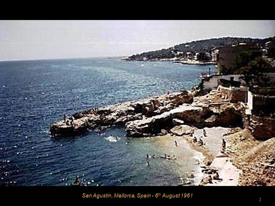 San Agustin, Mallorca, Spain - 1961 - Hotel La Rosa 1