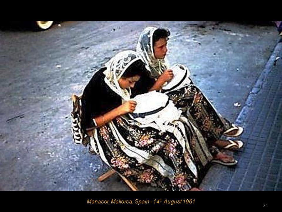 Porto Cristo, Mallorca, Spain - 14 th August 1961 33