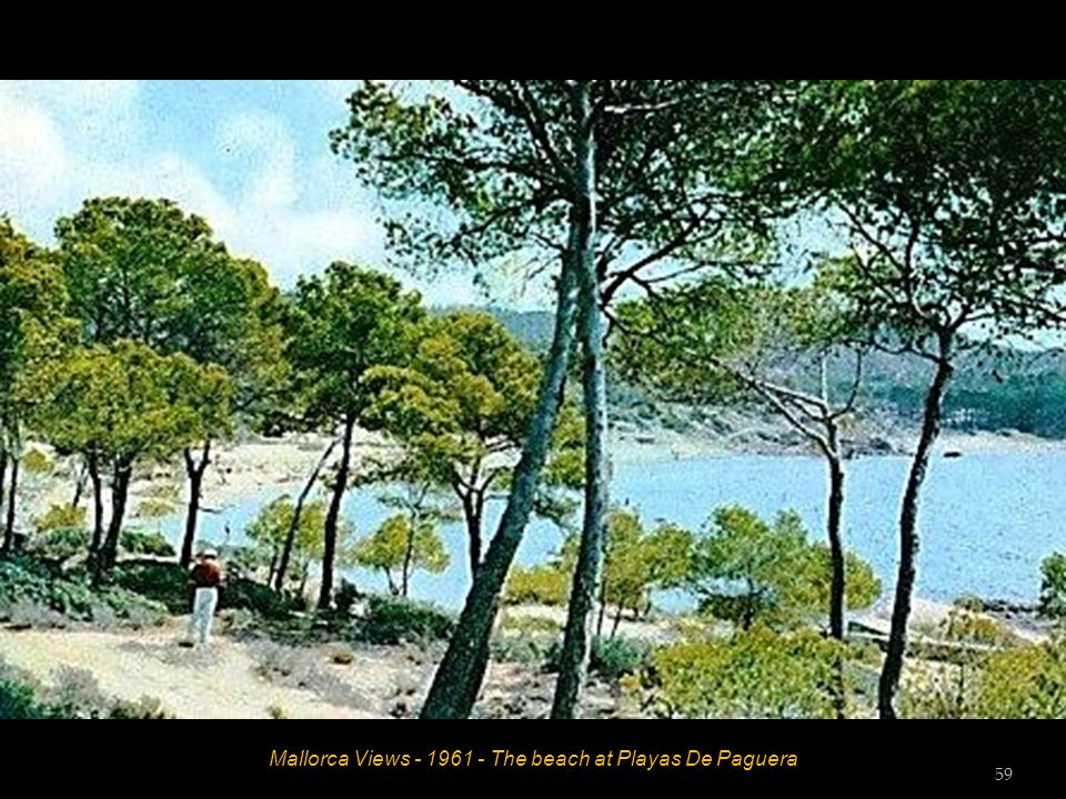 Mallorca Views - 1961 - The bay at Cala Guya 58