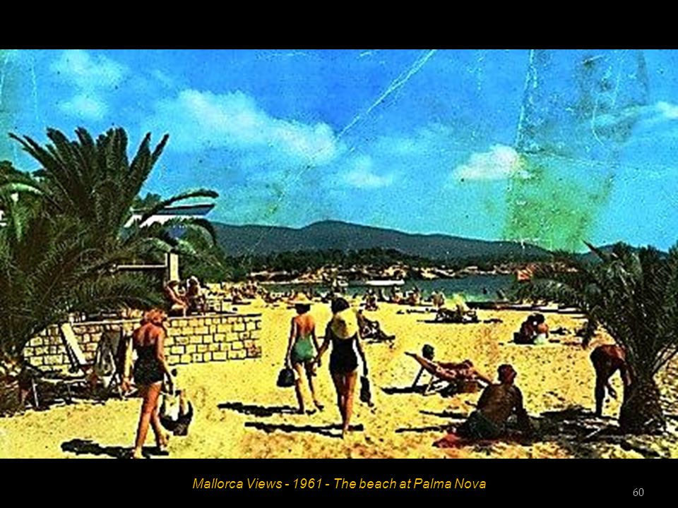 Mallorca Views - 1961 - The beach at Playas De Paguera 59