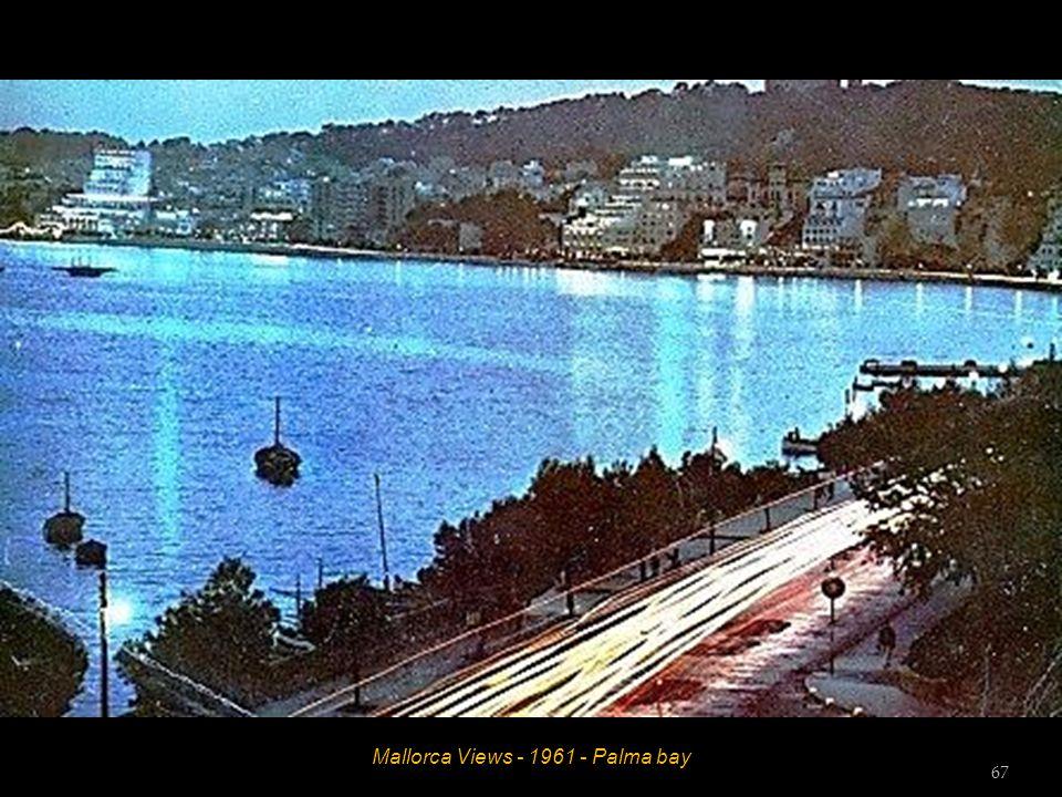 Mallorca Views - 1961 - Palma - Maritime Promenade 66