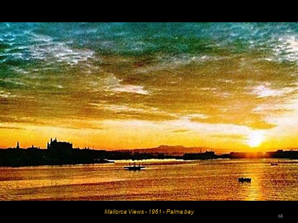 Mallorca Views - 1961 - Palma bay 67
