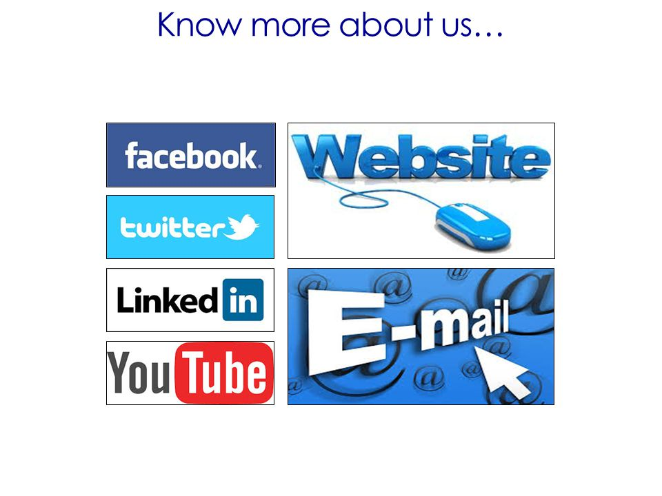 Know more about us…