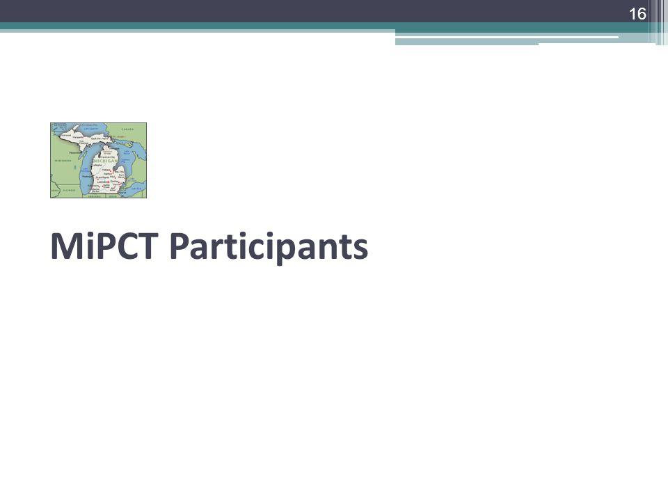 MiPCT Participants 16