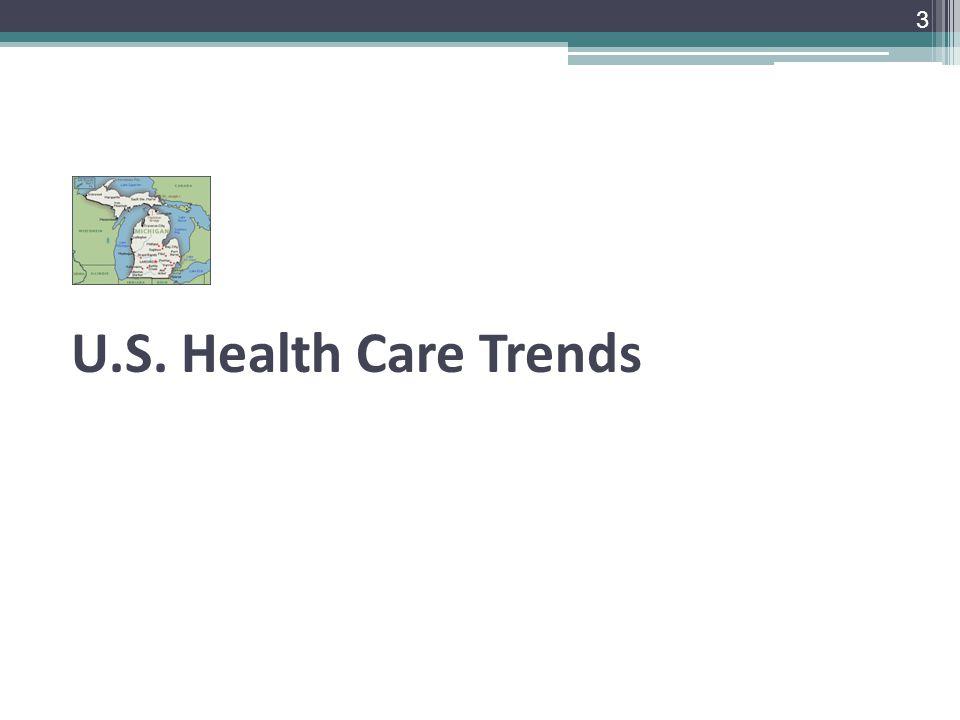 U.S. Health Care Trends 3