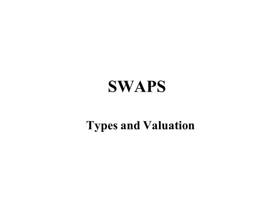 INTEREST RATE AND CURRENCY SWAPS Definition A swap is a contract between two parties to deliver one sum of money against another sum of money at periodic intervals.