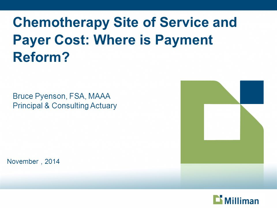 Chemotherapy Site of Service and Payer Cost: Where is Payment Reform.