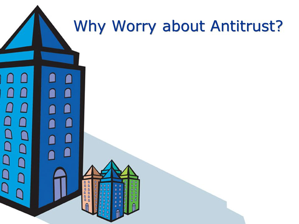 Why Worry about Antitrust?