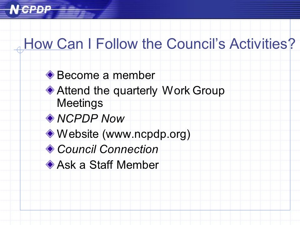 How Can I Follow the Council's Activities.