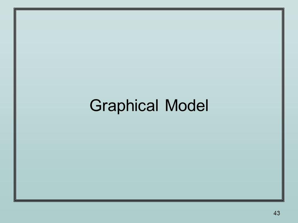 43 Graphical Model